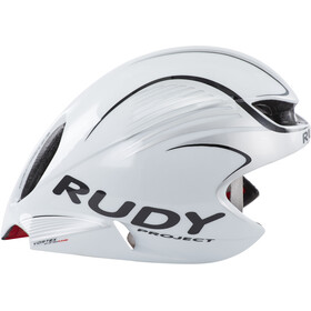 Rudy Project Wing57 Kask rowerowy, white/silver (shiny)